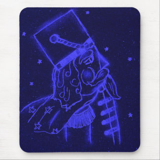 Toy Soldier in Royal Blue Mouse Pad