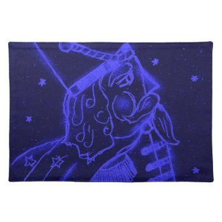 Toy Soldier in Royal Blue Placemat