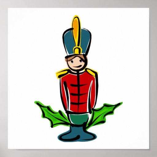 Toy Soldier Print