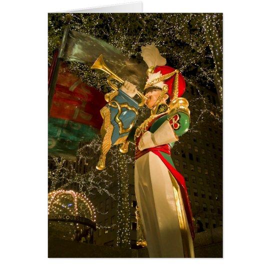 Toy Soldier Rockefeller Center Card