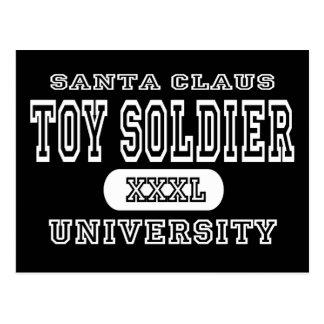 Toy Soldier Univeristy Dark Postcard