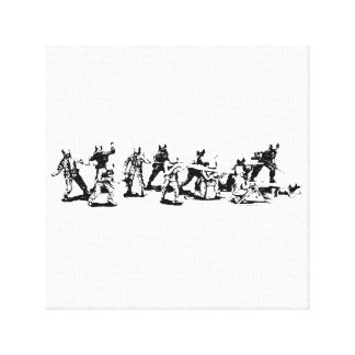 Toy Soldiers Canvas Hangup