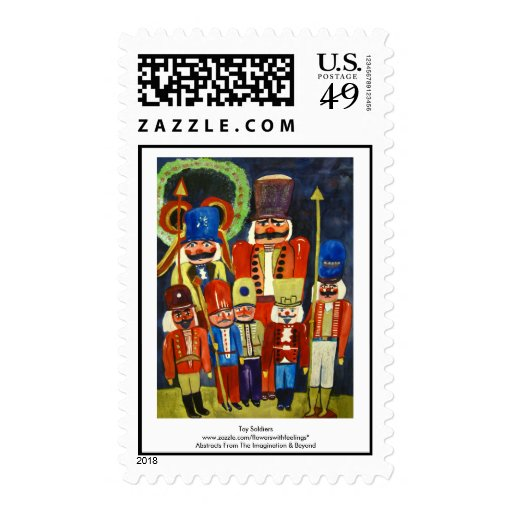Toy Soldiers Postage Stamp