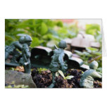 toy soldiers take on tank greeting cards