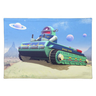 Toy Space Tank 1 Placemat
