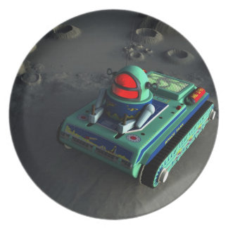 Toy Space Tank 2 Plate