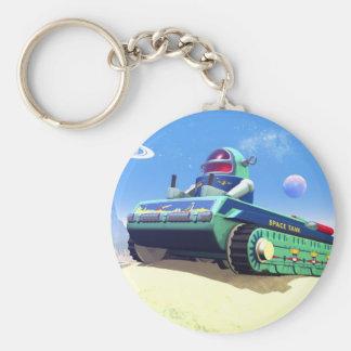 Toy Space Tank Keychain