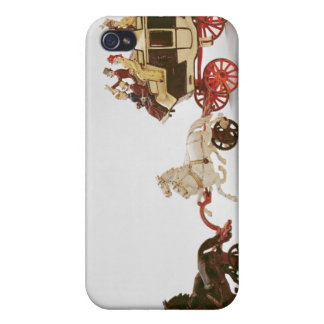 Toy stagecoach cases for iPhone 4