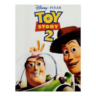 Toy Story 2 Buzz and Woody Poster