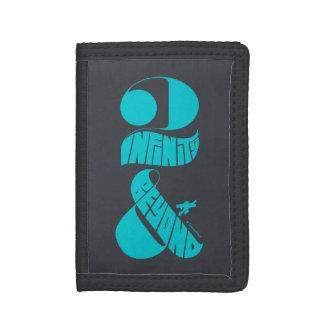 Toy Story | 2 Infinity & Beyond Logo Tri-fold Wallet