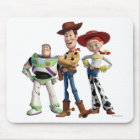 Toy Story 3 - Buzz Woody Jesse 2 Mouse Pad