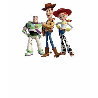 Toy Story 3 - Buzz Woody Jesse 2 shirt