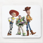 Toy Story 3 - Buzz Woody Jesse Mouse Pad