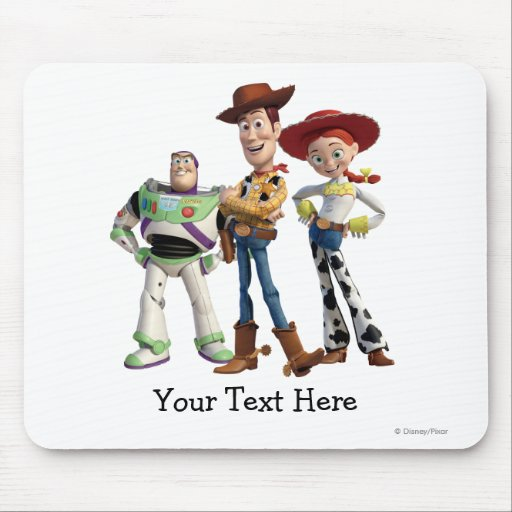 Toy Story 3 - Buzz Woody Jessie 2 Mouse Pad