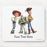 Toy Story 3 - Buzz Woody Jessie Mouse Pad