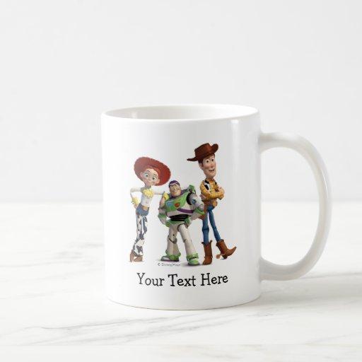 Toy Story 3 - Buzz Woody Jessie Mugs
