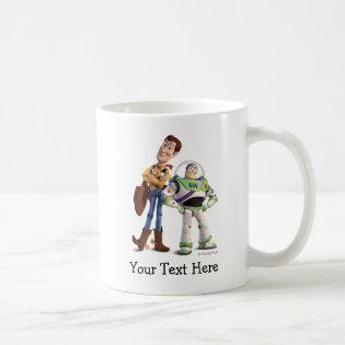 Toy Story 3 - Buzz & Woody Classic White Coffee Mug
