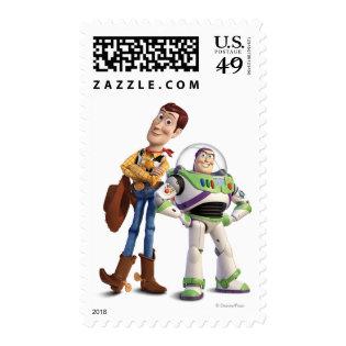 Toy Story 3 - Buzz & Woody Postage Stamp