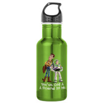 Toy Story 3 - Buzz & Woody Stainless Steel Water Bottle
