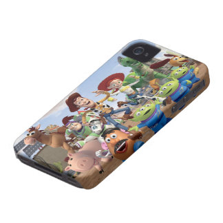 Toy Story 3 - Foto del equipo Case-Mate iPhone 4 Funda