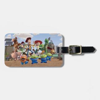 Toy Story 3 - Foto del equipo Etiquetas Para Equipaje