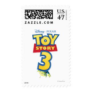 Toy Story 3 - Logo Stamp