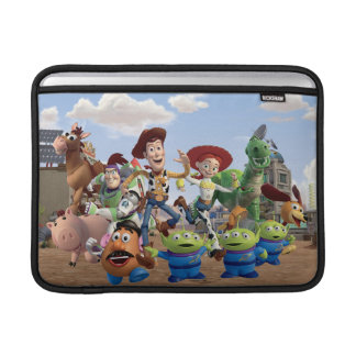 Toy Story 3 Squad MacBook Sleeve