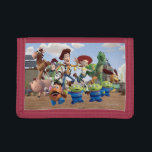 """Toy Story 3 Squad Tri-fold Wallet<br><div class=""""desc"""">Toy Story 3 Squad</div>"""