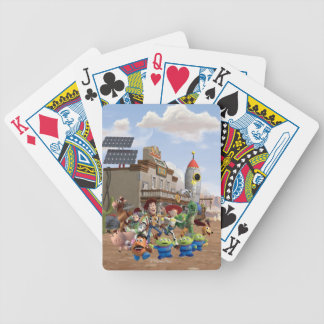 Toy Story 3 - Team Photo Bicycle Playing Cards