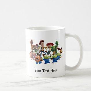 Toy Story 3 - Team Photo Classic White Coffee Mug