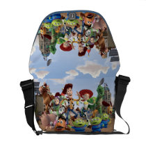 Toy Story 3 - Team Photo Courier Bag at Zazzle