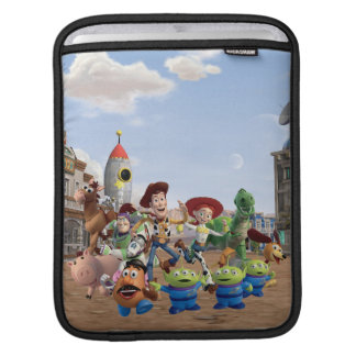 Toy Story 3 - Team Photo Sleeve For iPads