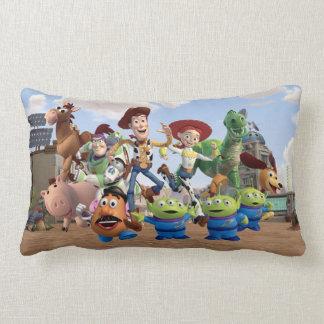 Toy Story 3 - Team Photo Lumbar Pillow