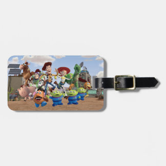 Toy Story 3 - Team Photo Tags For Luggage