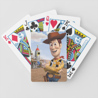 Toy Story 3 - Woody 3 Bicycle Playing Cards