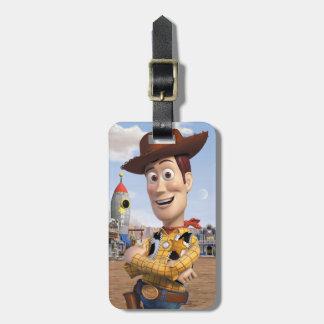 Toy Story 3 - Woody 3 Etiqueta Para Maleta