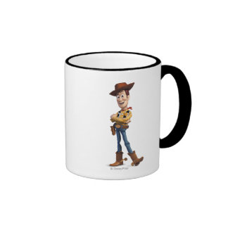 Toy Story 3 - Woody 3 Taza De Dos Colores