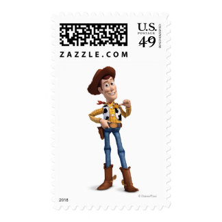 Toy Story 3 - Woody 4 Postage Stamp