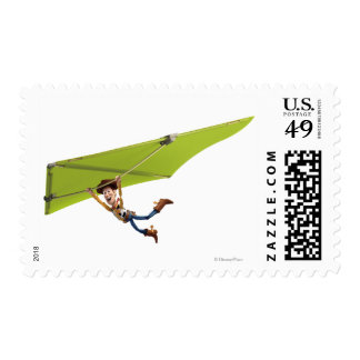 Toy Story 3 - Woody 5 Postage Stamp