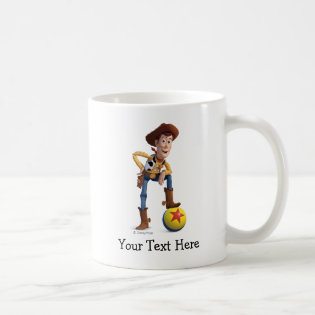 Toy Story 3 - Woody Classic White Coffee Mug