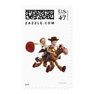 Toy Story 3 - Woody Jessie Estampilla