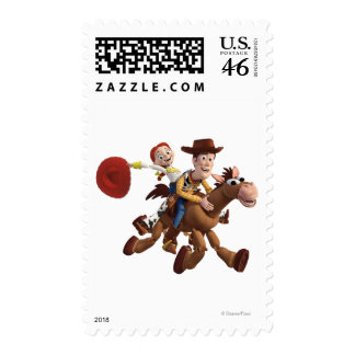Toy Story 3 - Woody Jessie Stamps