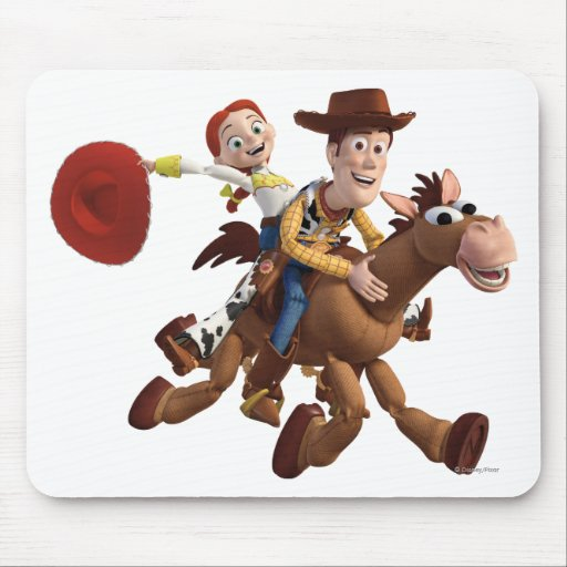 Toy Story 3 - Woody Jessie Tapetes De Raton