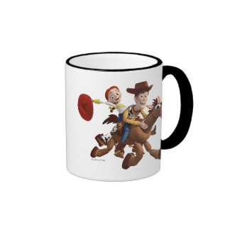Toy Story 3 - Woody Jessie Taza De Dos Colores