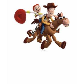 Toy Story 3 - Woody Jessie zazzle_shirt