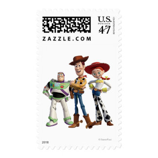 Toy Story 3 - Zumbido Woody Jesse 2 Sello Postal