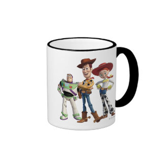 Toy Story 3 - Zumbido Woody Jesse 2 Taza De Dos Colores