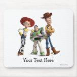 Toy Story 3 - Zumbido Woody Jessie Tapete De Raton