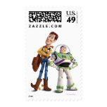 Toy Story 3 - Zumbido y Woody Timbres Postales
