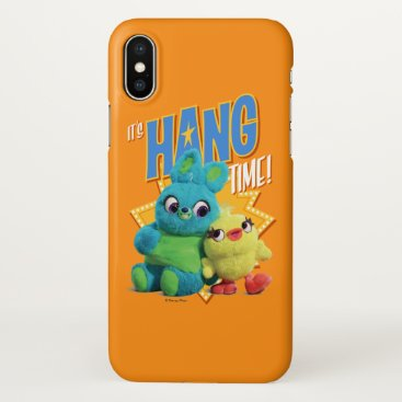"Toy Story 4 | Bunny & Ducky ""It's Hang Time"" iPhone X Case"